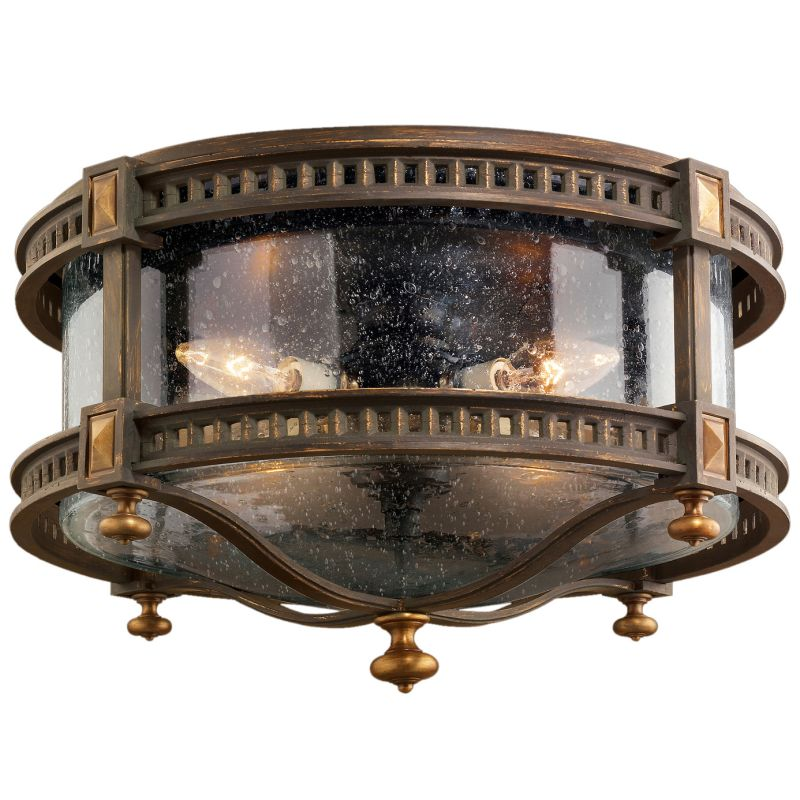 "Fine Art Lamps 564982ST Beekman Place 18"" Diameter Four-Light Outdoor"