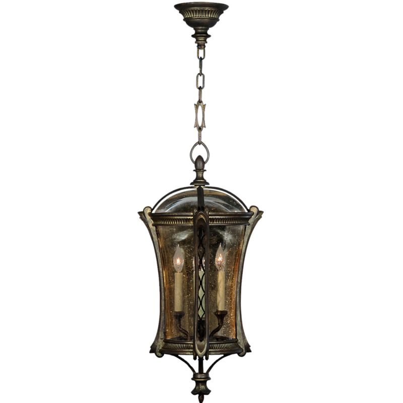 Fine Art Lamps 571882ST Gramercy Park Four-Light Outdoor Pendant with