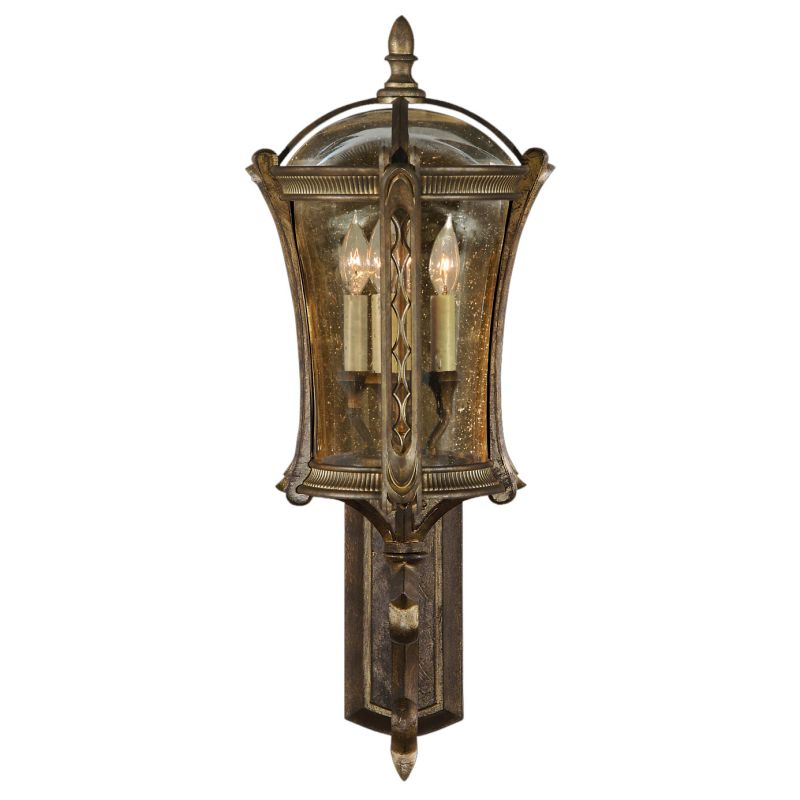 Fine Art Lamps 572181ST Gramercy Park Four-Light Outdoor Wall Sconce