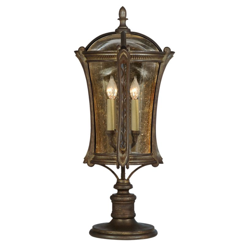 Fine Art Lamps 574480ST Gramercy Park Four-Light Post Light with