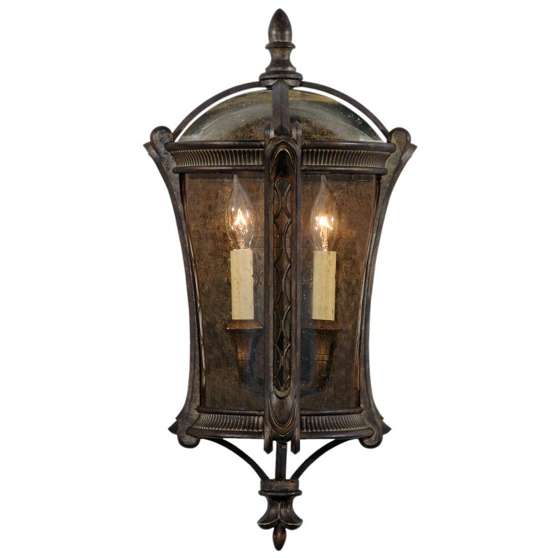 Fine Art Lamps 574781ST Gramercy Park Two-Light Outdoor Wall Sconce