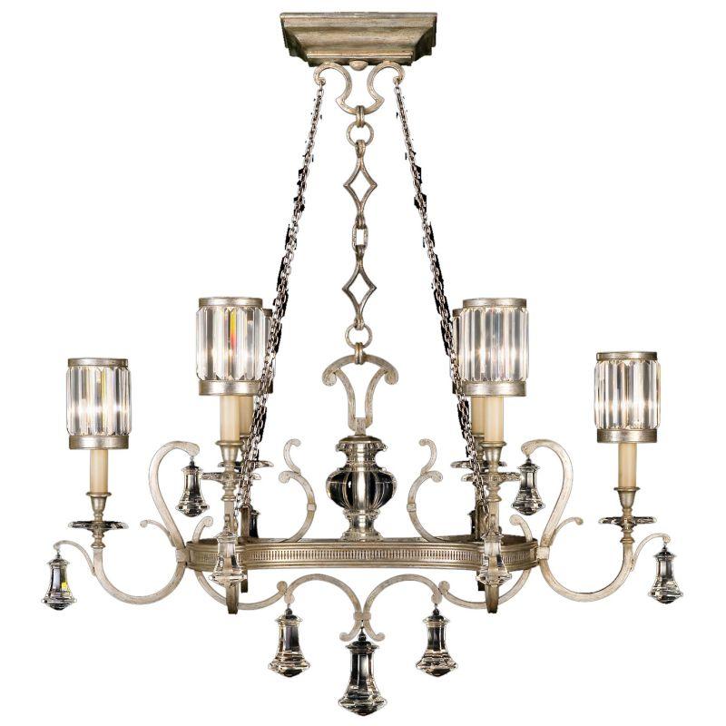 Fine Art Lamps 583840-2ST Eaton Place Silver Six-Light 2 Tier
