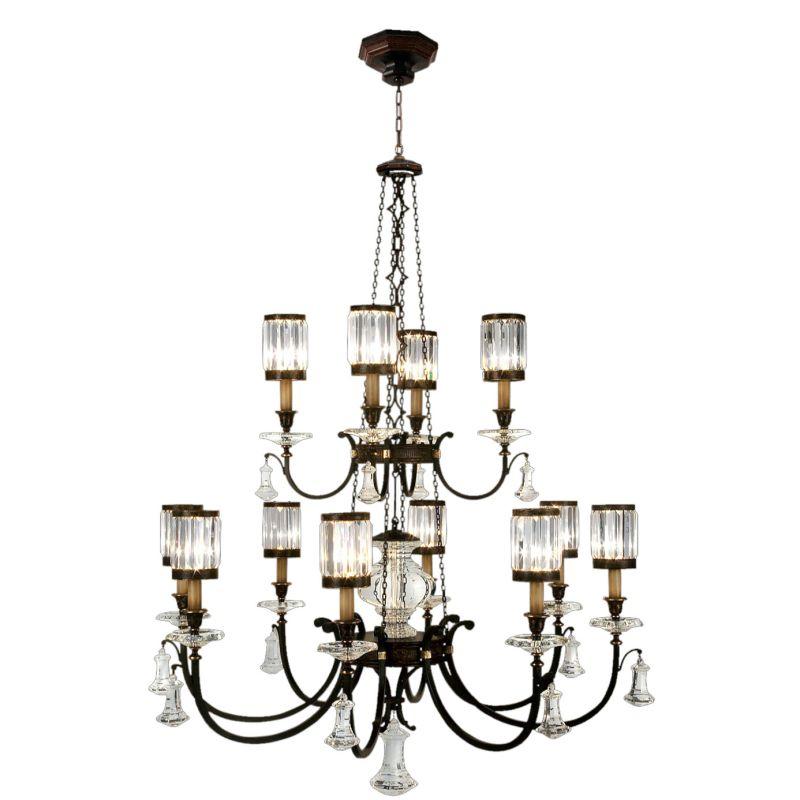 Fine Art Lamps 584740ST Eaton Place Twelve-Light Two-Tier Chandelier Sale $17608.50 ITEM#: 2258248 MODEL# :584740ST :