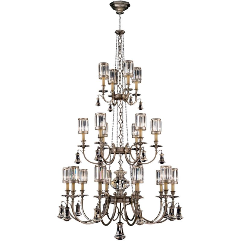 Fine Art Lamps 584840-2ST Eaton Place Silver Twenty-Light Three-Tier Sale $28959.00 ITEM#: 2258249 MODEL# :584840-2ST :