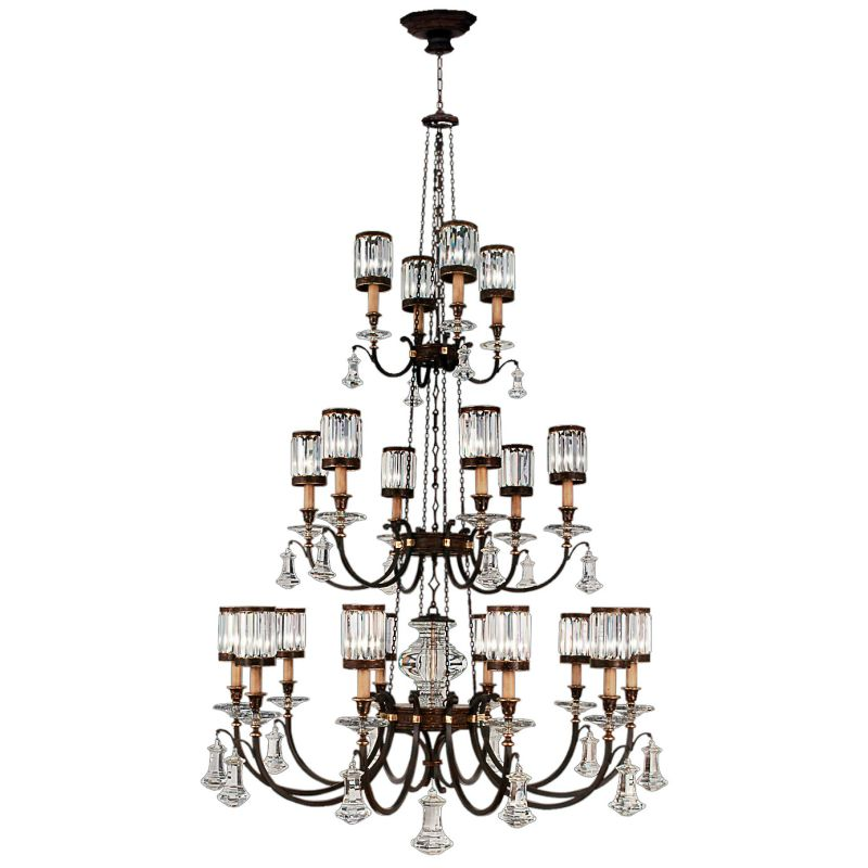 Fine Art Lamps 584840ST Eaton Place Twenty-Light Three-Tier Chandelier Sale $28959.00 ITEM#: 2258250 MODEL# :584840ST :