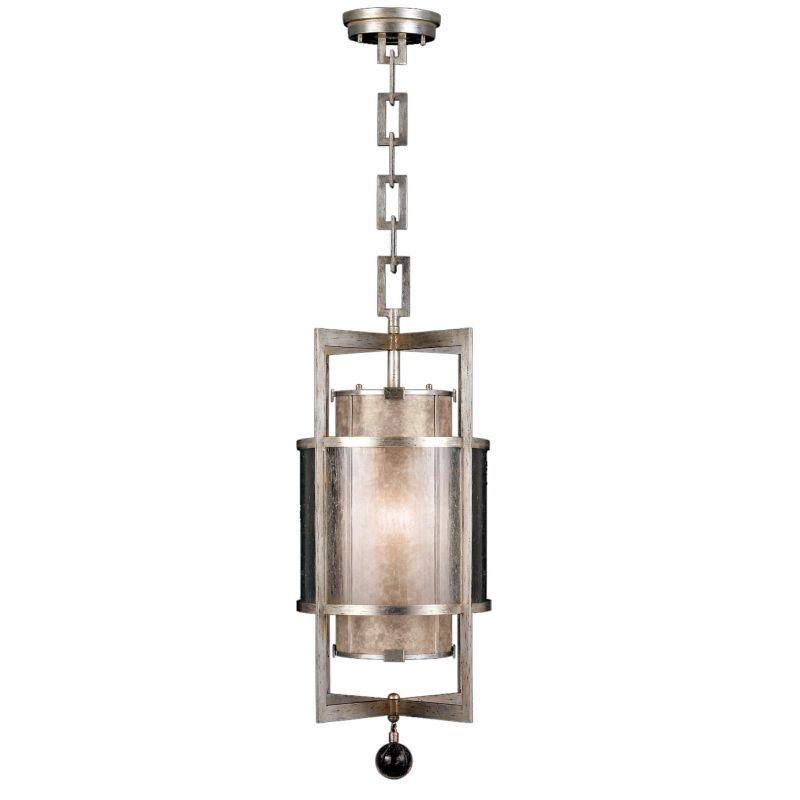 "Fine Art Lamps 590040-2ST Singapore Moderne Silver 13"" Diameter"