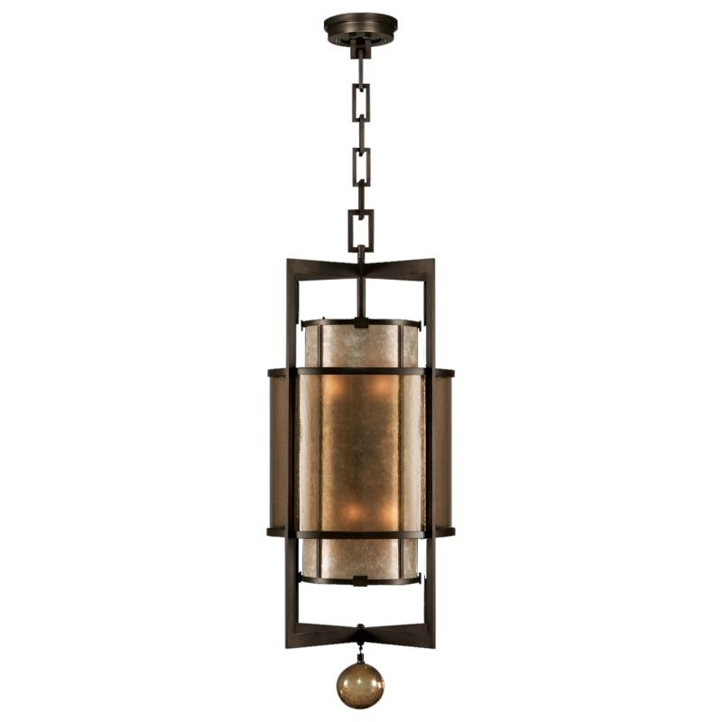 "Fine Art Lamps 591240ST Singapore Moderne 18"" Diameter Six-Light Foyer"