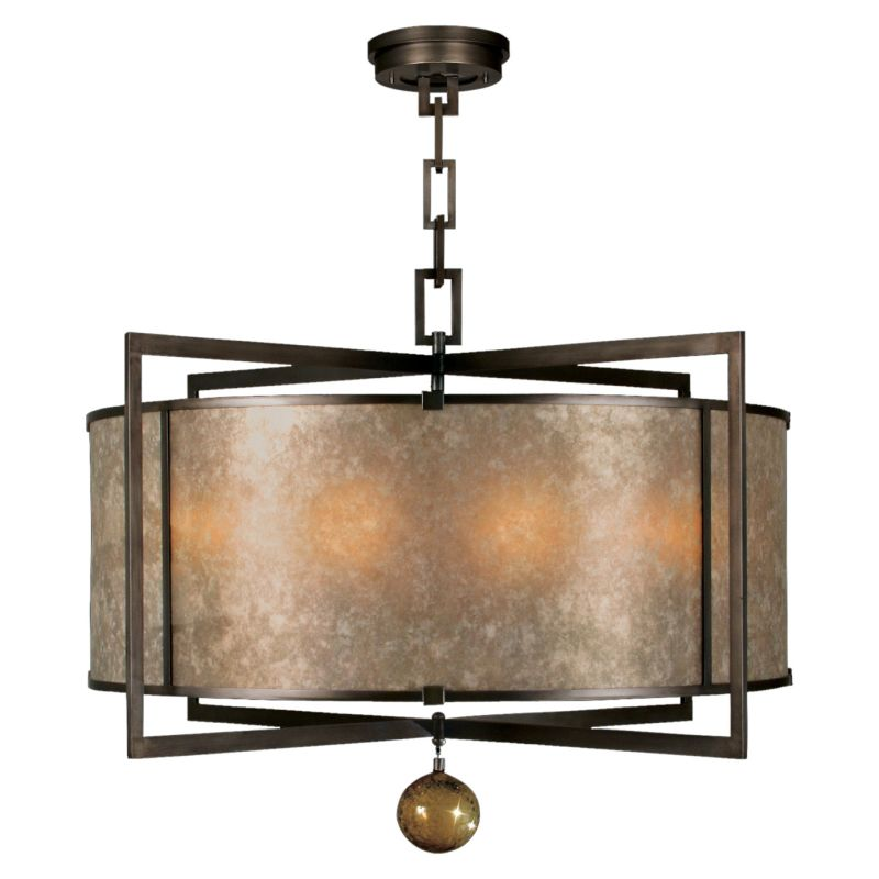 "Fine Art Lamps 591540ST Singapore Moderne 40"" Diameter Eight-Light"
