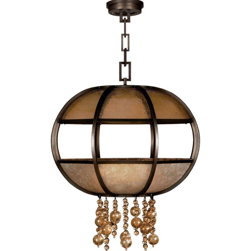 "Fine Art Lamps 600240ST Singapore Moderne 31"" Diameter Eight-Light"