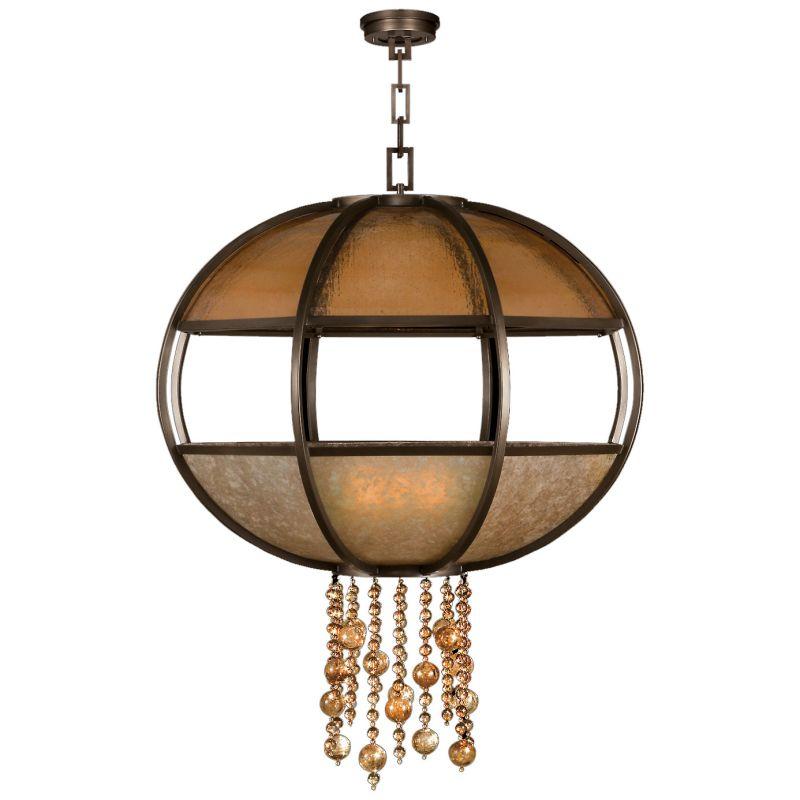 "Fine Art Lamps 600340ST Singapore Moderne 42"" Diameter Eight-Light"
