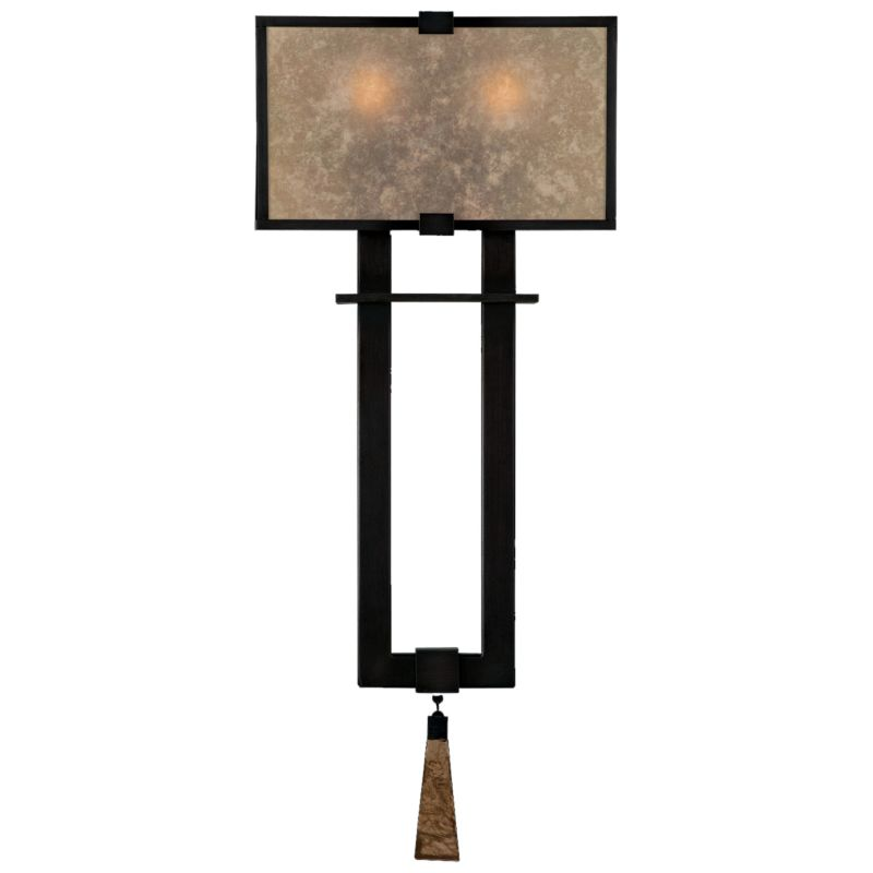 Fine Art Lamps 600550ST Singapore Moderne Two-Light Wall Sconce with