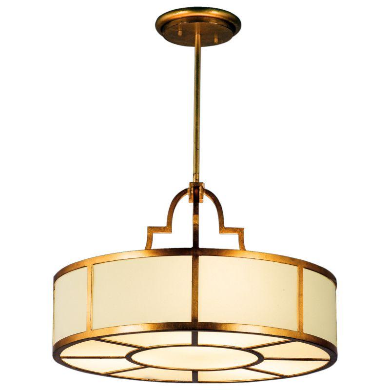 "Fine Art Lamps 601740ST Portobello Road 36"" Diameter Eight-Light Drum"