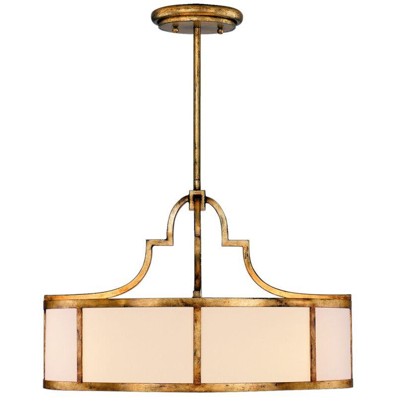 "Fine Art Lamps 601840ST Portobello Road 48"" Diameter Eight-Light Drum"