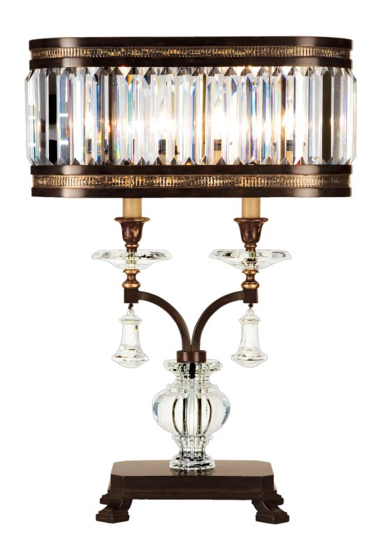 Fine Art Lamps 606010ST Eaton Place Two-Light Table Lamp with Inline Sale $3097.50 ITEM#: 2258296 MODEL# :606010ST :