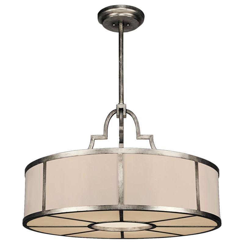 "Fine Art Lamps 610040ST Portobello Road 36"" Diameter Eight-Light Drum"