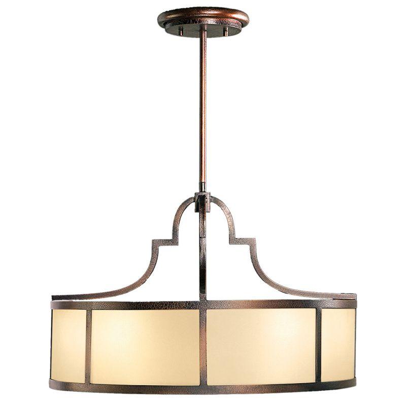 "Fine Art Lamps 610640ST Portobello Road 48"" Diameter Eight-Light Drum"
