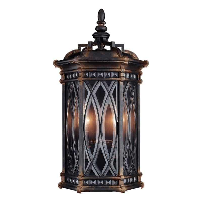 Fine Art Lamps 611881ST Warwickshire Two-Light Outdoor Wall Sconce