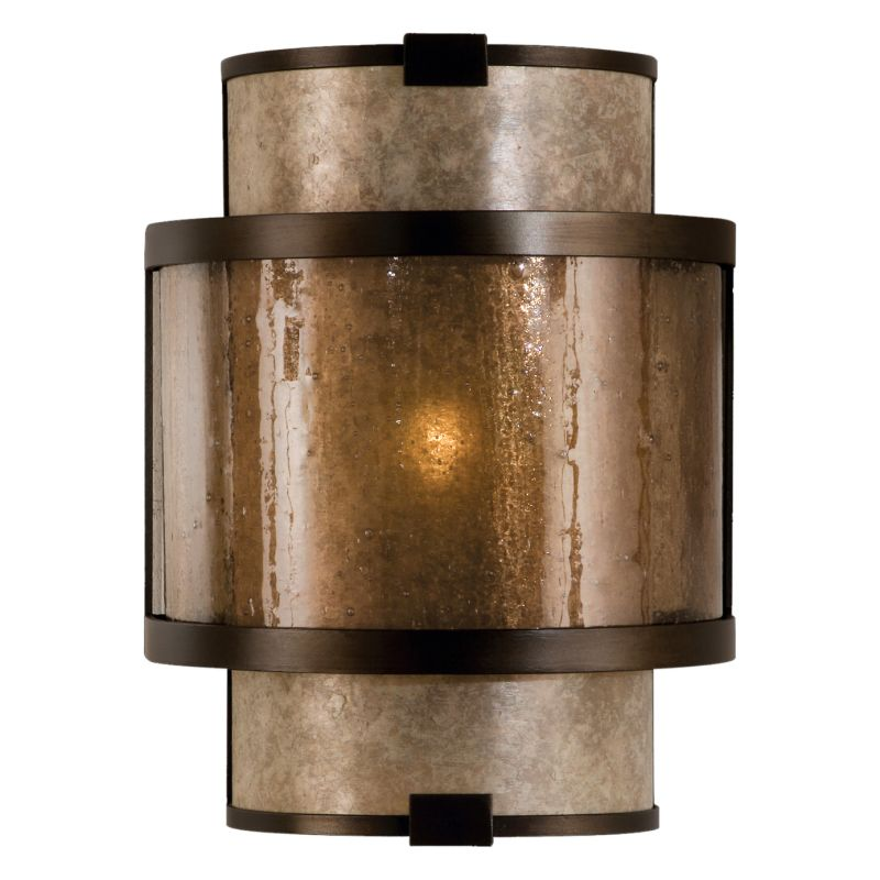 Fine Art Lamps 618050ST Singapore Moderne Single-Light Wall Sconce