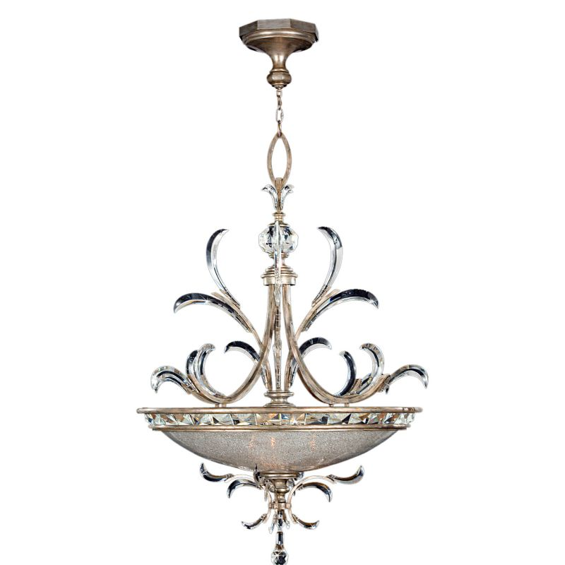 "Fine Art Lamps 704440ST Beveled Arcs 44"" Diameter Three-Light Beveled"