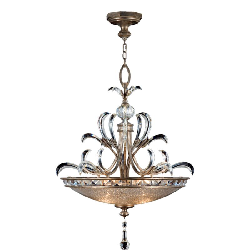 "Fine Art Lamps 704540ST Beveled Arcs 32"" Diameter Three-Light Beveled"