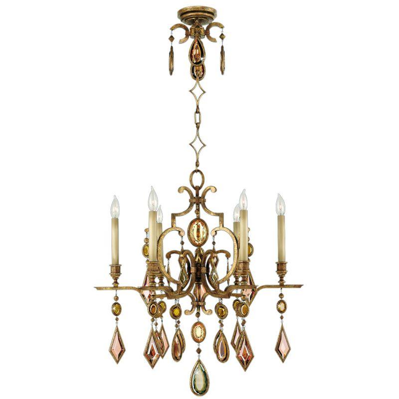 Fine Art Lamps 729640-3ST Encased Gems Six-Light Single-Tier Sale $6457.50 ITEM#: 2260270 MODEL# :729640-3ST :