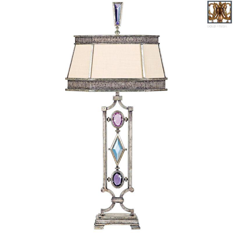 Fine Art Lamps 730310-3ST Encased Gems Single-Light Table Lamp with Sale $2236.50 ITEM#: 2260397 MODEL# :730310-3ST :