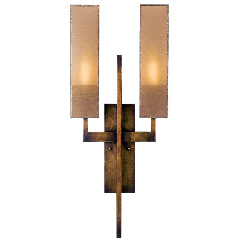 Fine Art Lamps 733050GU Perspectives Two-Light Wall Sconce with