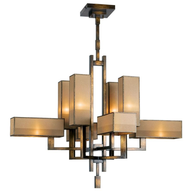 Fine Art Lamps 733840ST Perspectives Eight-Light Two-Tier Chandelier Sale $6237.00 ITEM#: 2258460 MODEL# :733840ST :