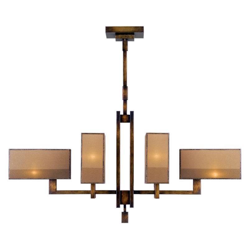 Fine Art Lamps 734040ST Perspectives Six-Light Single-Tier Linear