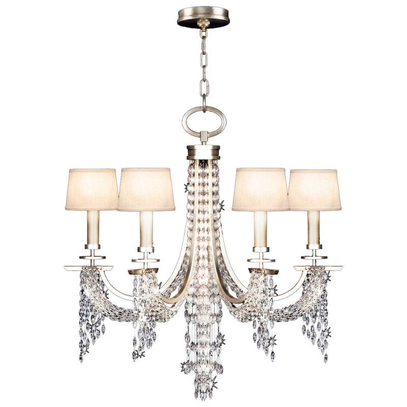 Fine Art Lamps 748740ST Cascades Six-Light Single-Tier Chandelier with