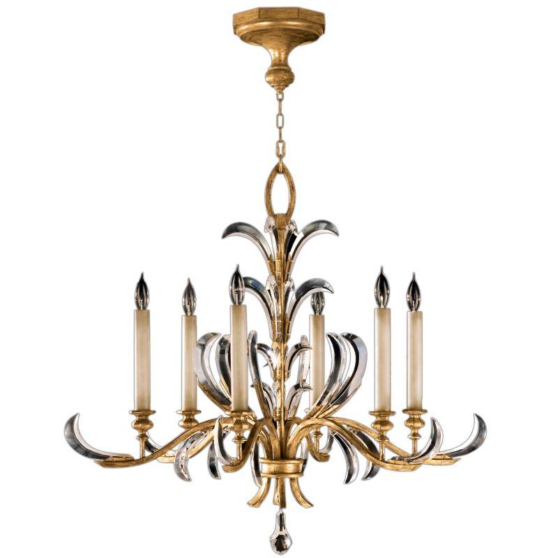 Fine Art Lamps 762640ST Beveled Arcs Gold Six-Light Single-Tier Sale $6027.00 ITEM#: 2258527 MODEL# :762640ST :