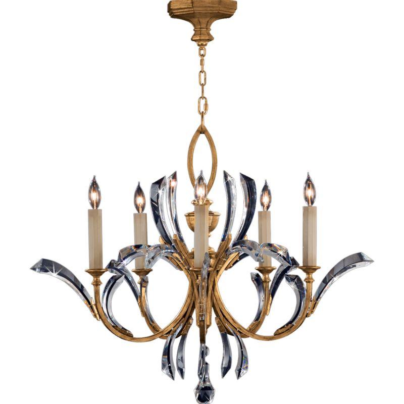Fine Art Lamps 763040ST Beveled Arcs Gold Five-Light Single-Tier Sale $5796.00 ITEM#: 2258530 MODEL# :763040ST :