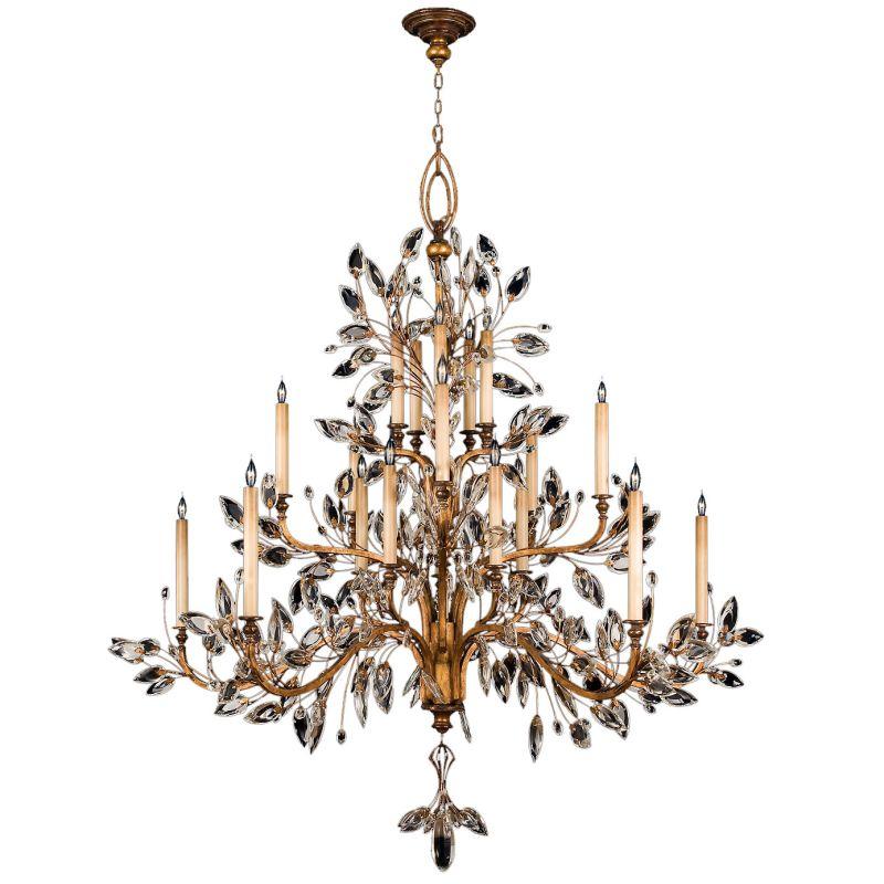 Fine Art Lamps 774540ST Crystal Laurel Gold Twenty-Light Three-Tier Sale $27804.00 ITEM#: 2258556 MODEL# :774540ST :