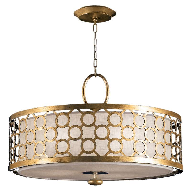 "Fine Art Lamps 780140-2ST Allegretto Gold 33"" Diameter Three-Light"