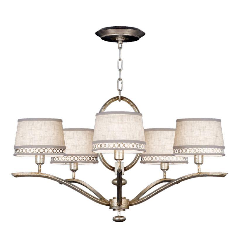 Fine Art Lamps 785440ST Allegretto Silver Five-Light Single-Tier Sale $2194.50 ITEM#: 2258592 MODEL# :785440ST :