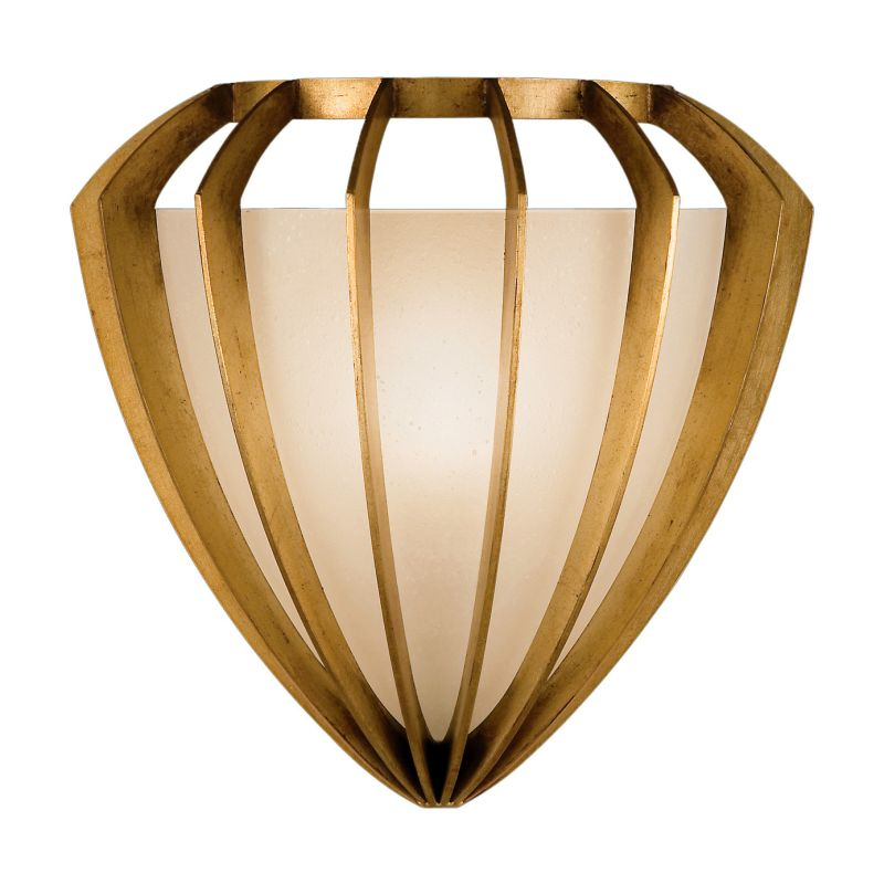 Fine Art Lamps 786450-2ST Staccato Gold Single-Light Wall Sconce with