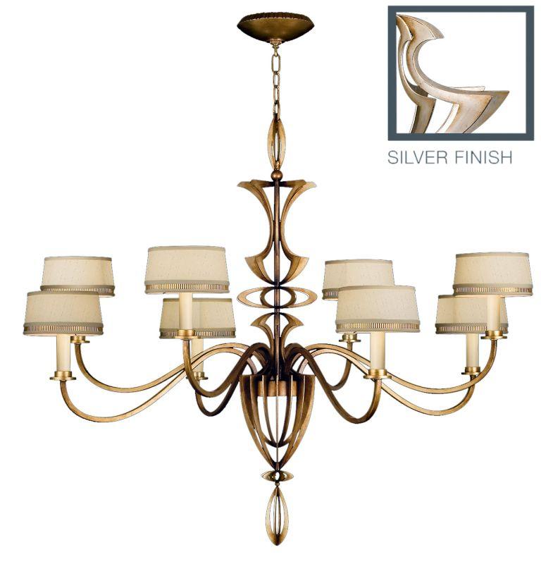 Fine Art Lamps 786640ST Staccato Silver Eight-Light Single-Tier Sale $6783.00 ITEM#: 2258602 MODEL# :786640ST :