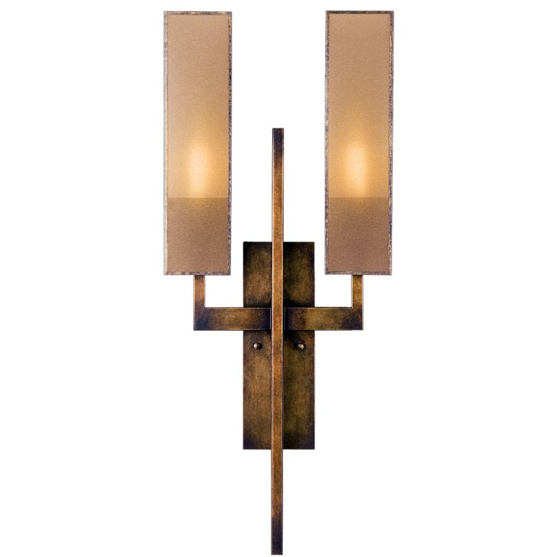 Fine Art Lamps 789950GU Perspectives Two-Light Wall Sconce with