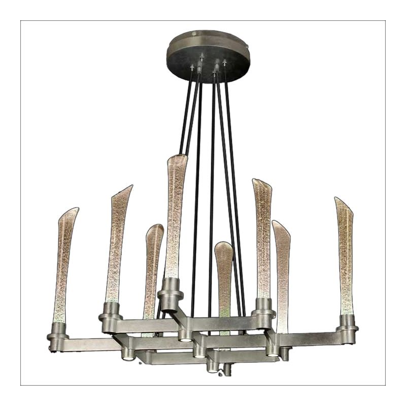 Fine Art Lamps 795140LD Catalyst 8+5-Light Single-Tier LED Chandelier Sale $9723.00 ITEM#: 2258712 MODEL# :795140GA :