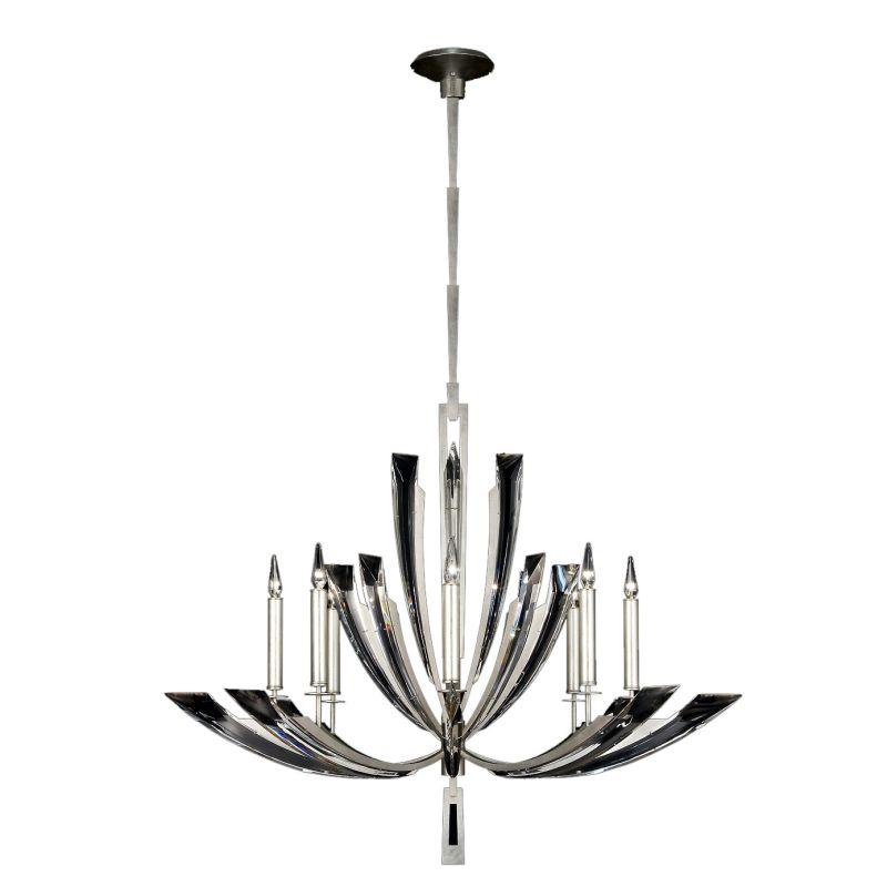 Fine Art Lamps 797340ST Vol de Cristal Eight-Light Single-Tier