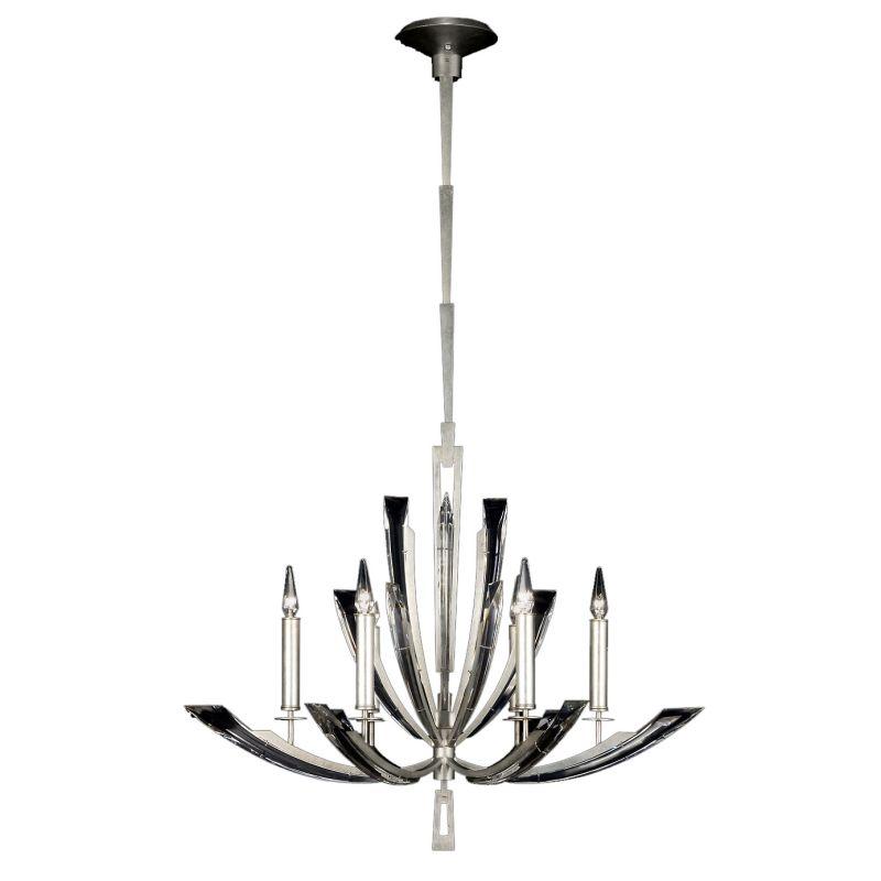 Fine Art Lamps 798040ST Vol de Cristal Six-Light Single-Tier