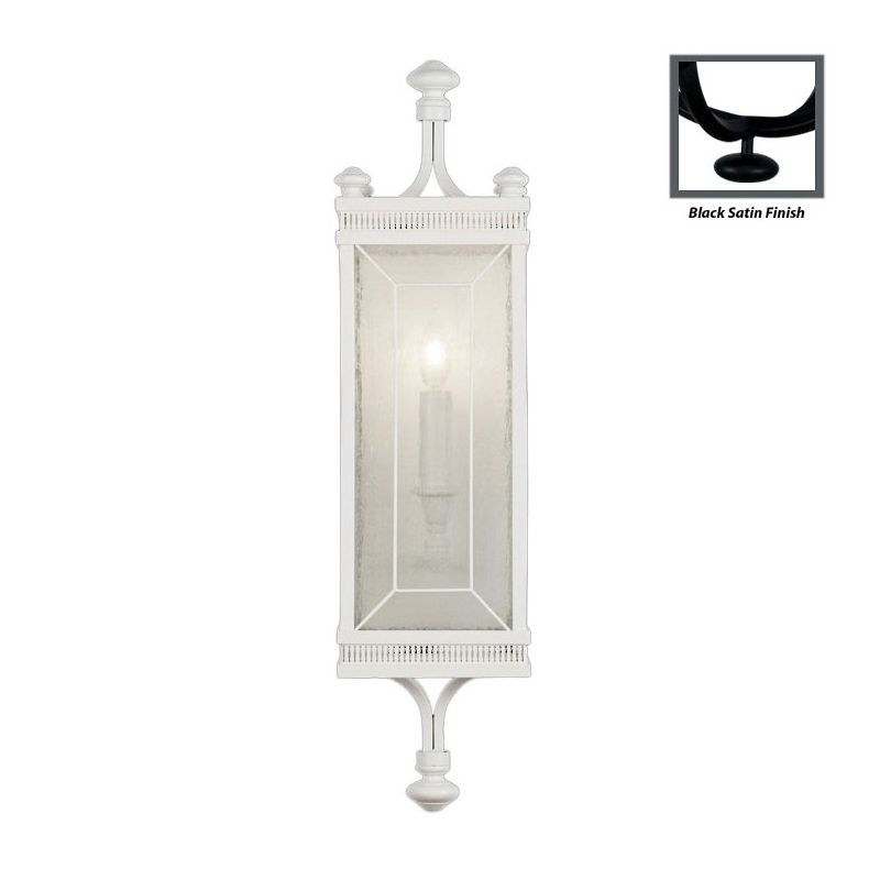 Fine Art Lamps 808150-6ST Black+White Story Single-Light Wall Sconce Sale $1585.50 ITEM#: 2258794 MODEL# :808150-6ST :