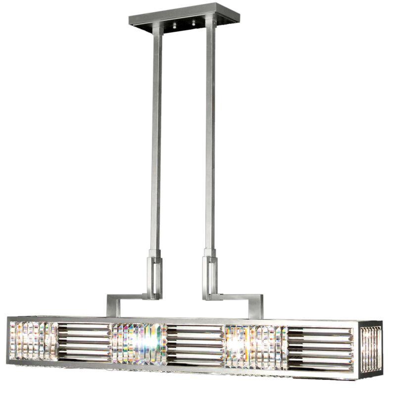 Fine Art Lamps 812240ST Crystal Enchantment Six-Light Single-Tier