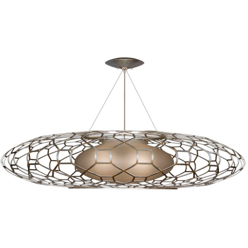 Fine Art Lamps 816940ST Allegretto Silver Three-Light Foyer Pendant Sale $10090.50 ITEM#: 2258929 MODEL# :816940ST :