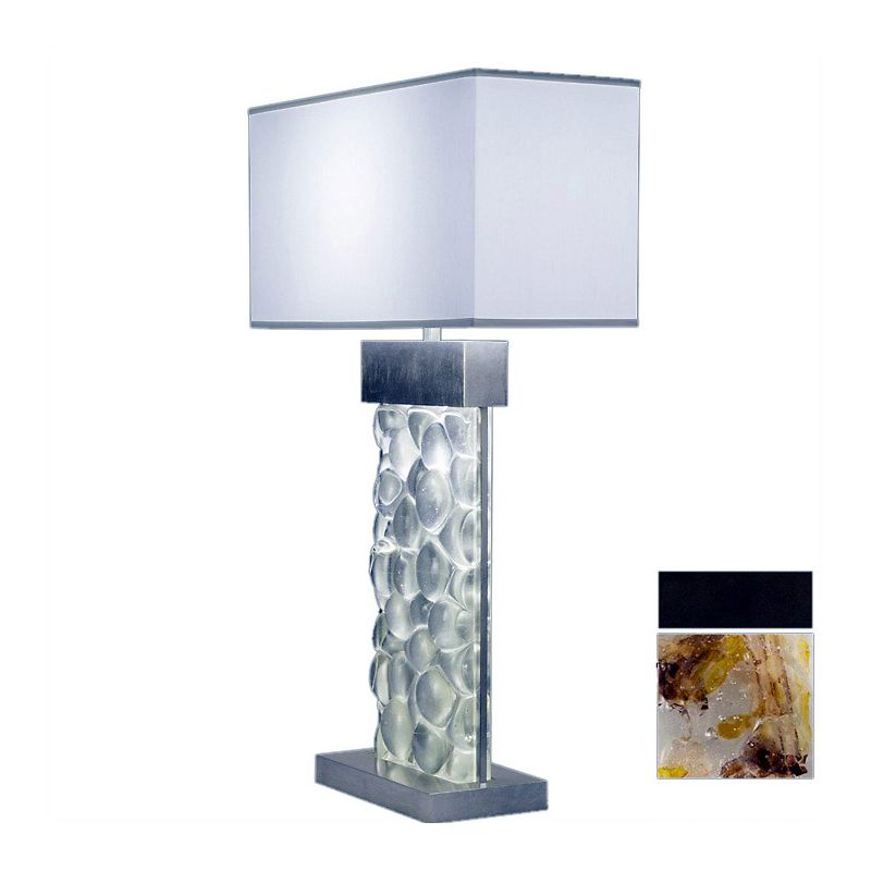 Fine Art Lamps 824610-11ST Crystal Bakehouse Two-Light Table Lamp with
