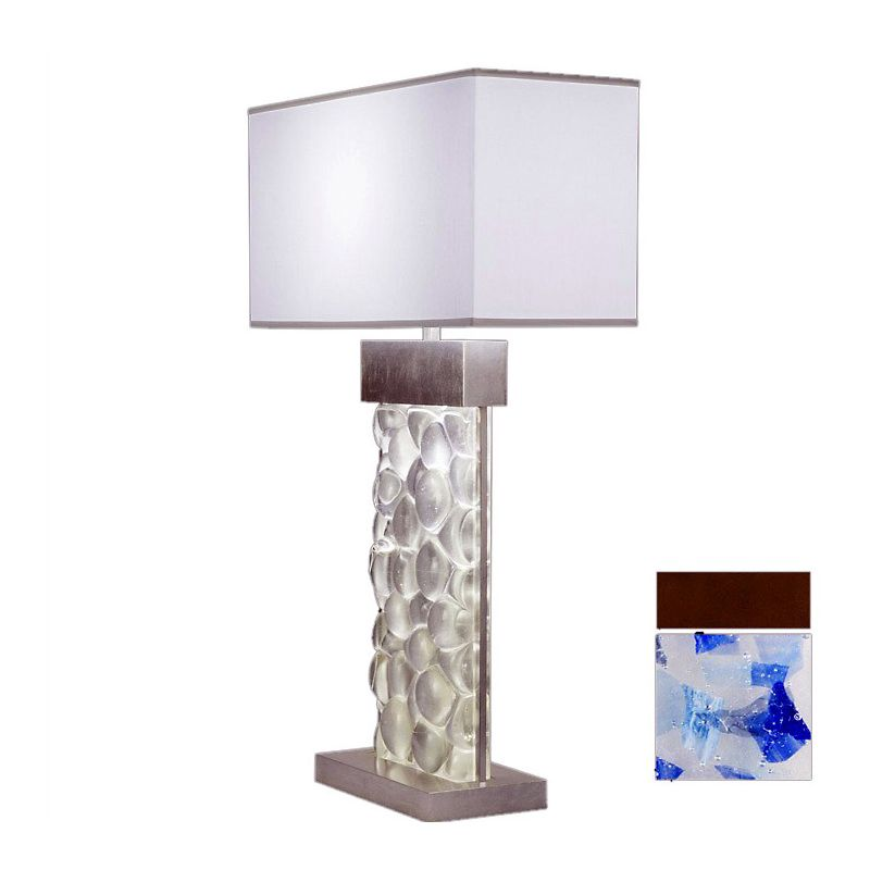 Fine Art Lamps 824610-12ST Crystal Bakehouse Two-Light Table Lamp with
