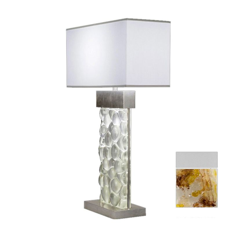 Fine Art Lamps 824610-21ST Crystal Bakehouse Two-Light Table Lamp with