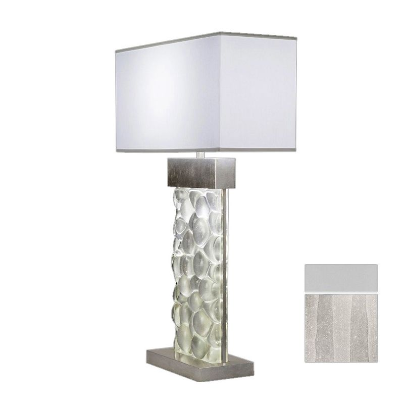 Fine Art Lamps 824610-23ST Crystal Bakehouse Two-Light Table Lamp with