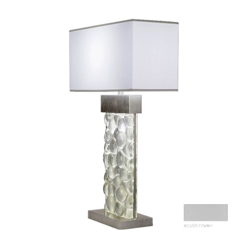 Fine Art Lamps 824610-24ST Crystal Bakehouse Two-Light Table Lamp with