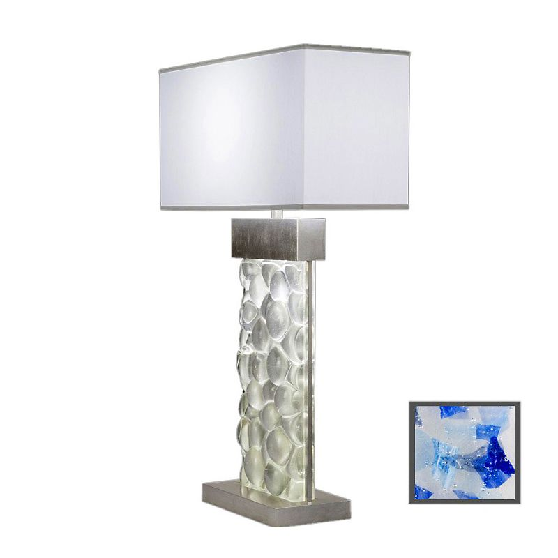 Fine Art Lamps 824610-32ST Crystal Bakehouse Two-Light Table Lamp with